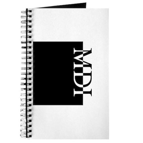 MDI Typography Journal