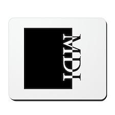MDI Typography Mousepad