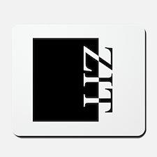ZIT Typography Mousepad