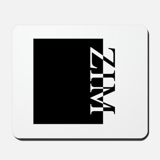 ZIM Typography Mousepad