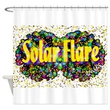 solarflare Shower Curtain