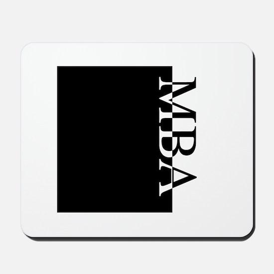 MBA Typography Mousepad