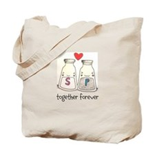 Salt + Pepper = Forever Tote Bag