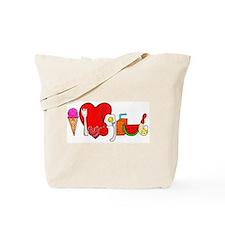 I Lub Grub Logo Tote Bag