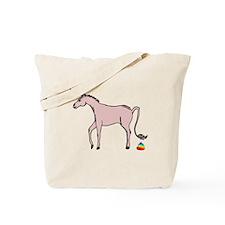 Unicorns Poop Rainbows Tote Bag