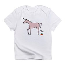 Unicorns Poop Rainbows Infant T-Shirt