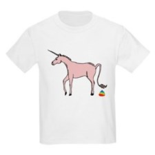 Unicorns Poop Rainbows T-Shirt