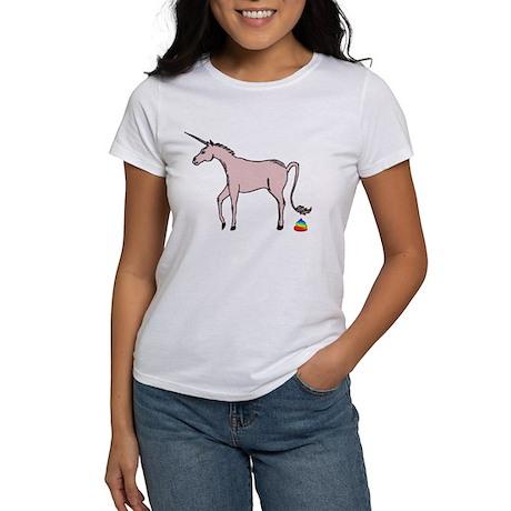 Unicorns Poop Rainbows Women's T-Shirt