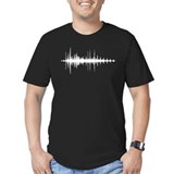 Audio Fitted Dark T-Shirts