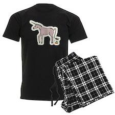 Unicorns Poop Rainbows Pajamas