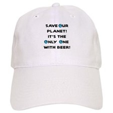 Save Our Planet Beer Baseball Cap