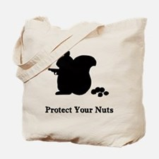 Protect Your Nuts Tote Bag