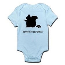 Protect Your Nuts Infant Bodysuit