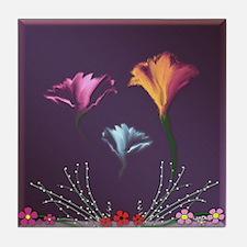 Flowers Tile Coaster