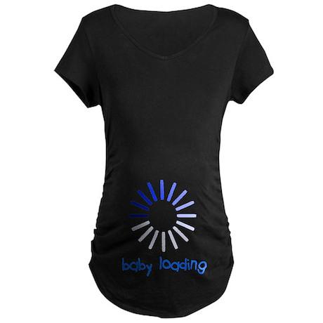 Baby Loading Maternity Maternity Dark T-Shirt