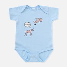 Unicorn Pegasus Lucky Infant Bodysuit