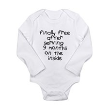 Finally Free Serving 9 Months Long Sleeve Infant B