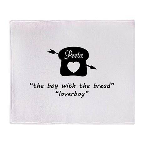 HG Peeta Throw Blanket