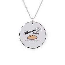 HG Mellark Bakery Necklace Circle Charm