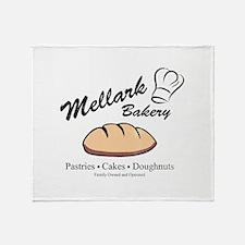 HG Mellark Bakery Throw Blanket