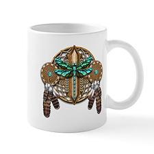 Labradorite Dragonfly Dreamcatcher Mug