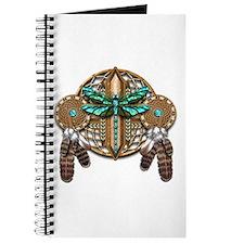 Labradorite Dragonfly Dreamcatcher Journal