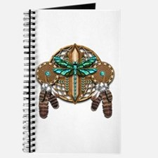 Labradorite Dragonfly Dreamcatcher Journal