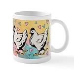 Chickens & Hearts Mug