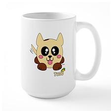 Taco Pudgie Pet Mug