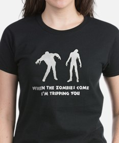 When Zombies Come Trip Tee