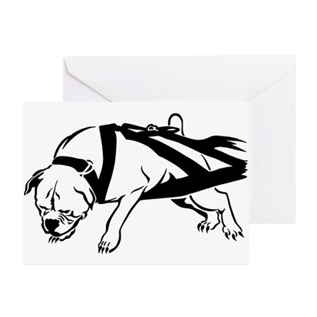 American Bulldog Greeting Cards (Pk of 10)