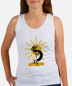 Kokopelli gold drk Tank Top