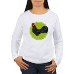 Ancona Rooster Women's Long Sleeve T-Shirt