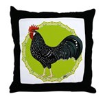 Ancona Rooster Throw Pillow