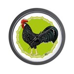 Ancona Rooster Wall Clock
