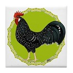 Ancona Rooster Tile Coaster
