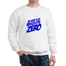 My Wife Is At Absolute Zero Sweatshirt
