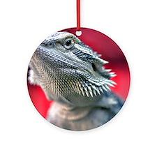 Dragon Head Ornament (Round)