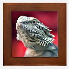 Dragon Head Framed Tile