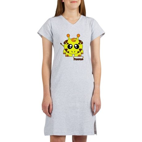 Pompom Pudgie Pet Women's Nightshirt