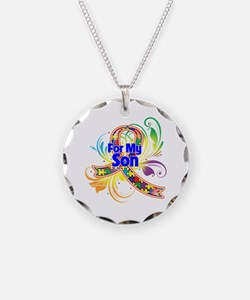 Autism For My Son Necklace