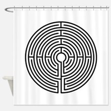 Labyrinth Shower Curtain