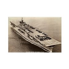 USS BON HOMME RICHARD Rectangle Magnet