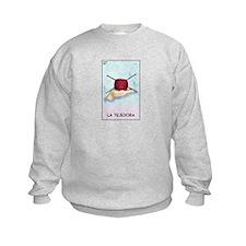 Loteria [f] Kids Sweatshirt