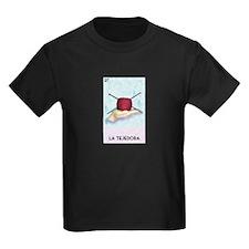 Loteria [f] Kids Dark T-Shirt