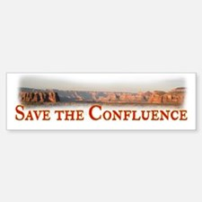 Save the Confluence Bumper Bumper Sticker