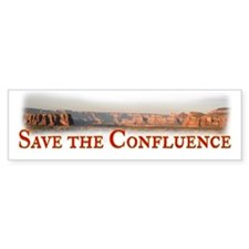 Save the Confluence Bumper Sticker