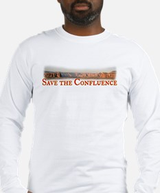 Save the Confluence Long Sleeve T-Shirt