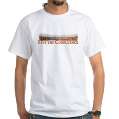 Save the Confluence White T-Shirt