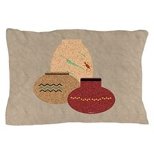 Clay Pots Pillow Case